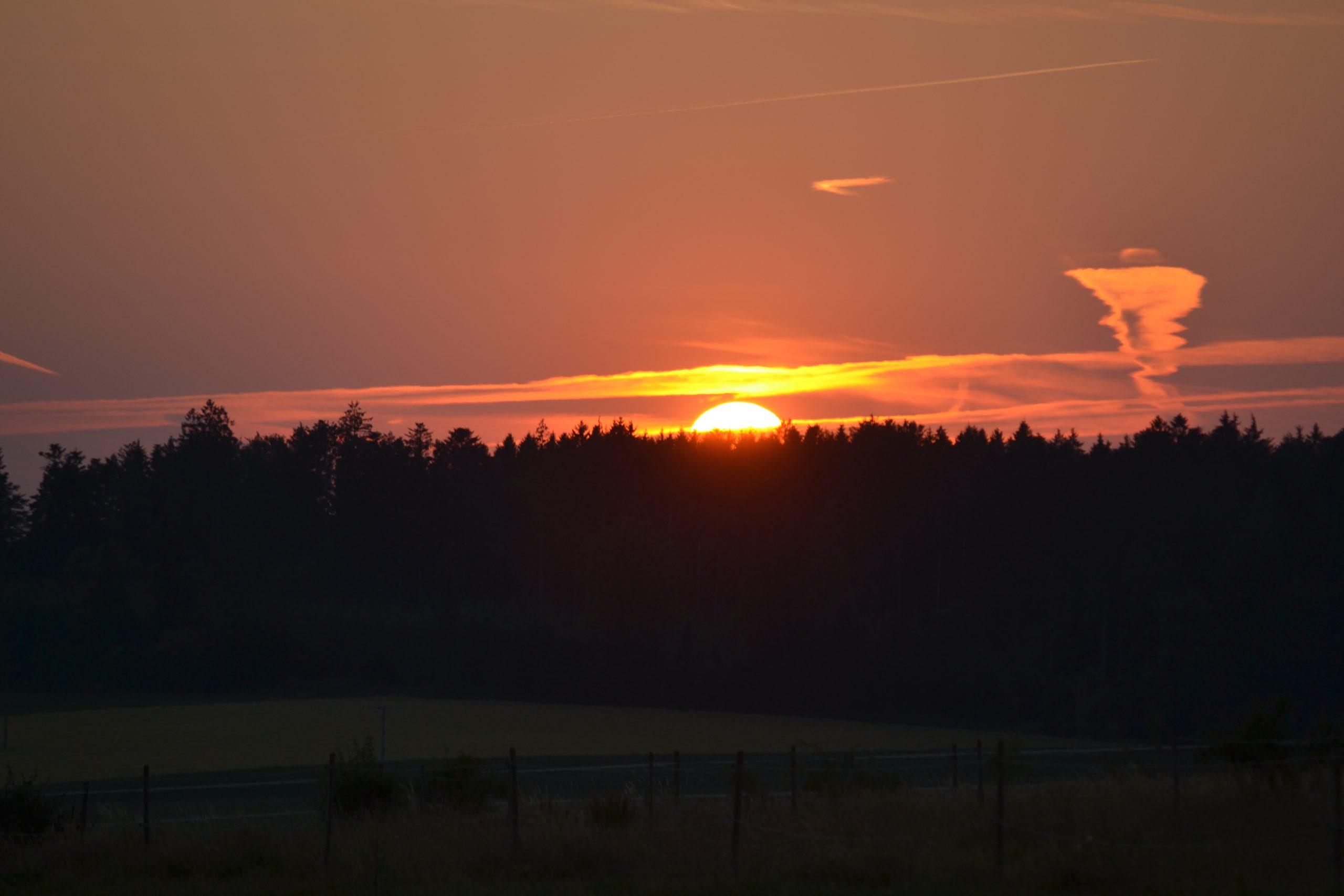 Seehöfle's Sonnenuntergang