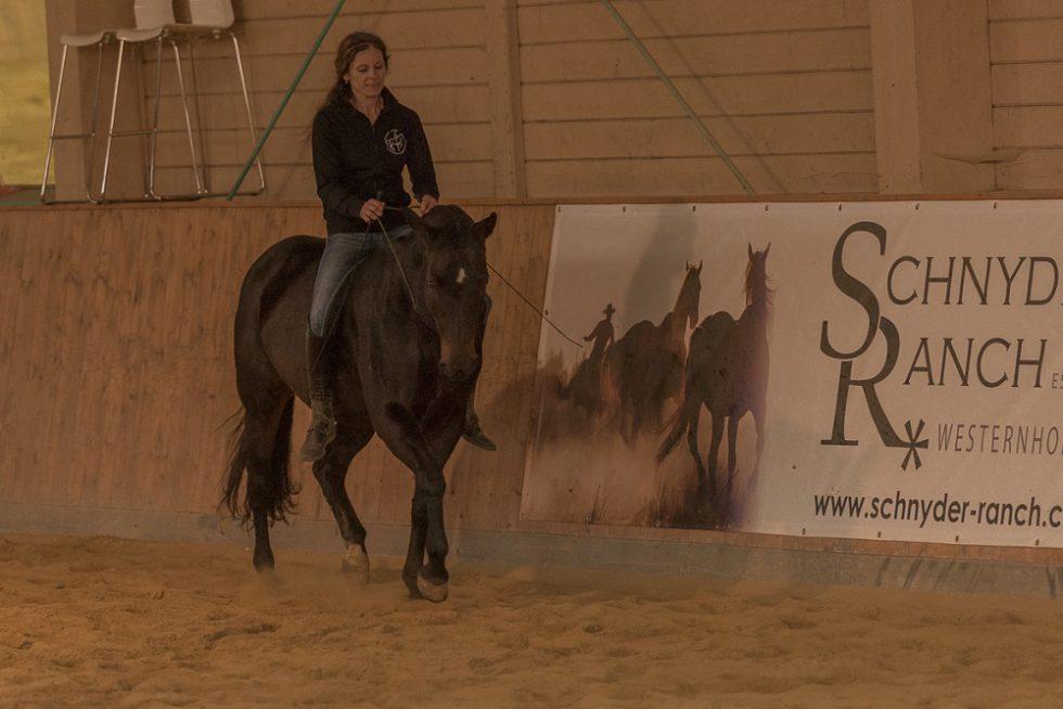 Vorführung auf der Schnyder Ranch in Ravensburg